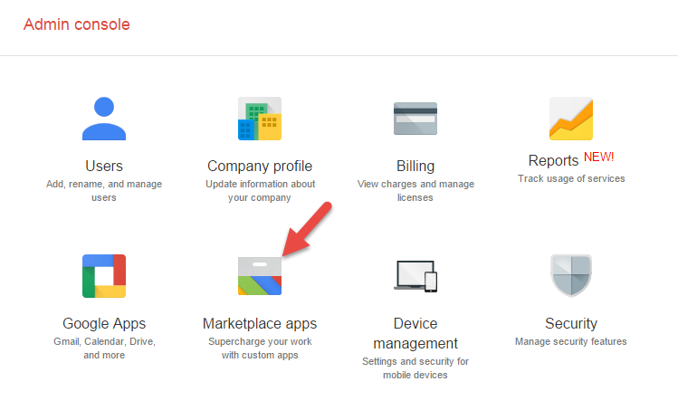 Google Admin Console