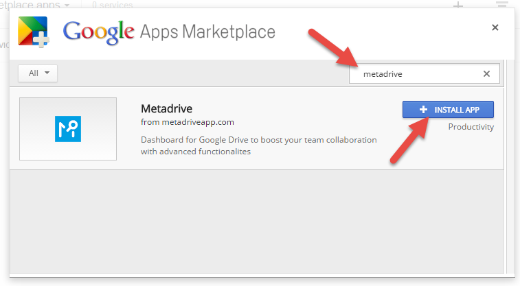 Metadrive Marketplace Apps