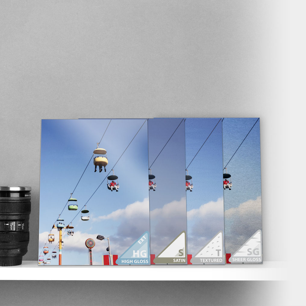 Metal Print Sample Packs - Try your image on every surface