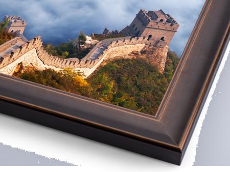 Metal Print with Custom Frame for Wall Display