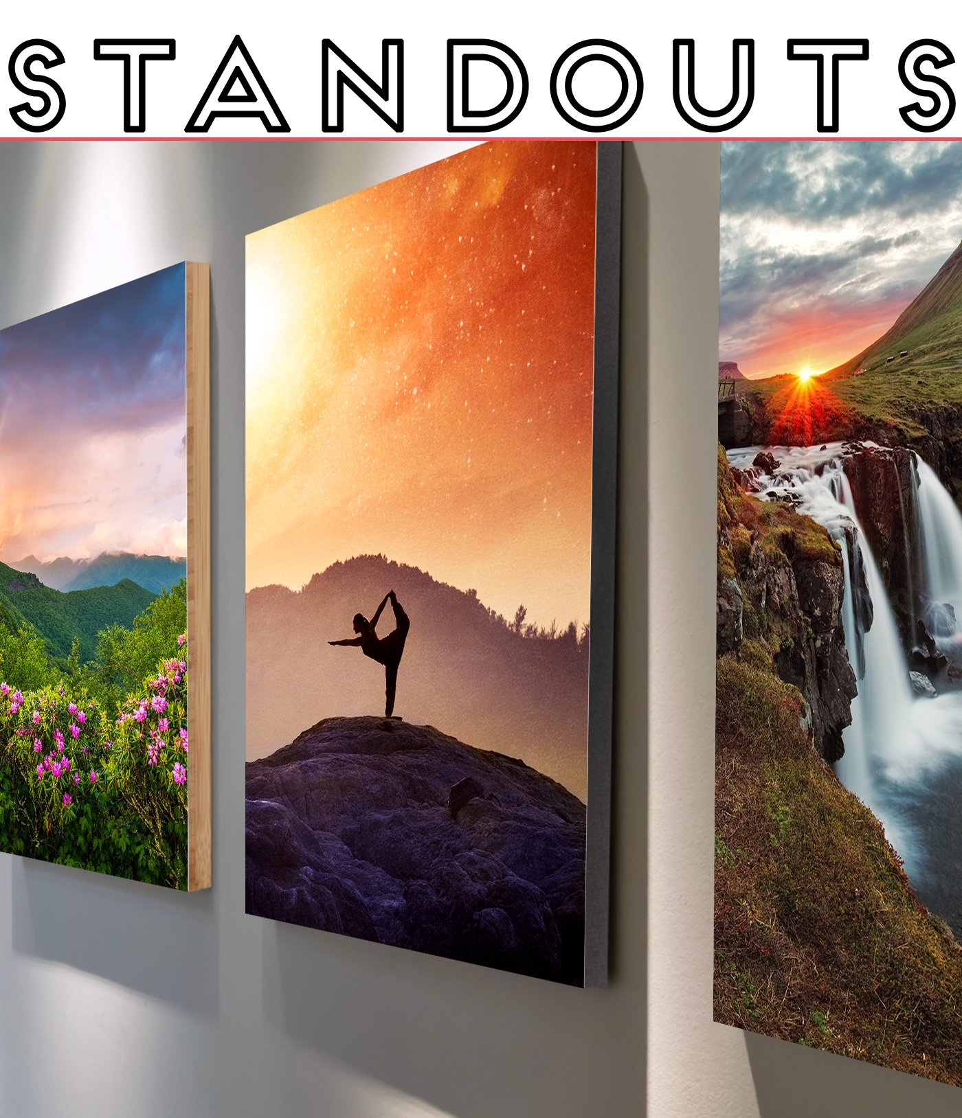 Metal Prints with Standout Mounts Buy One Get One Free