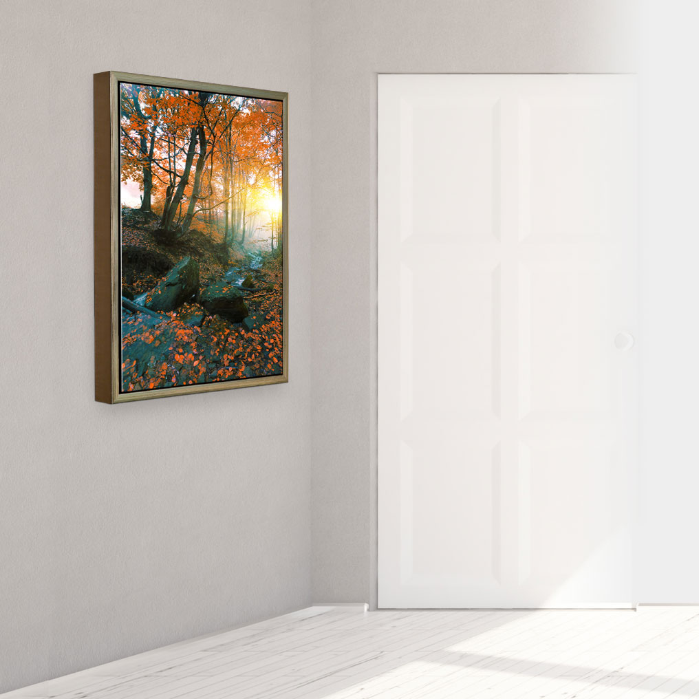 Add Depth and Weight to Your Images With Our Float Framed Metal Prints.