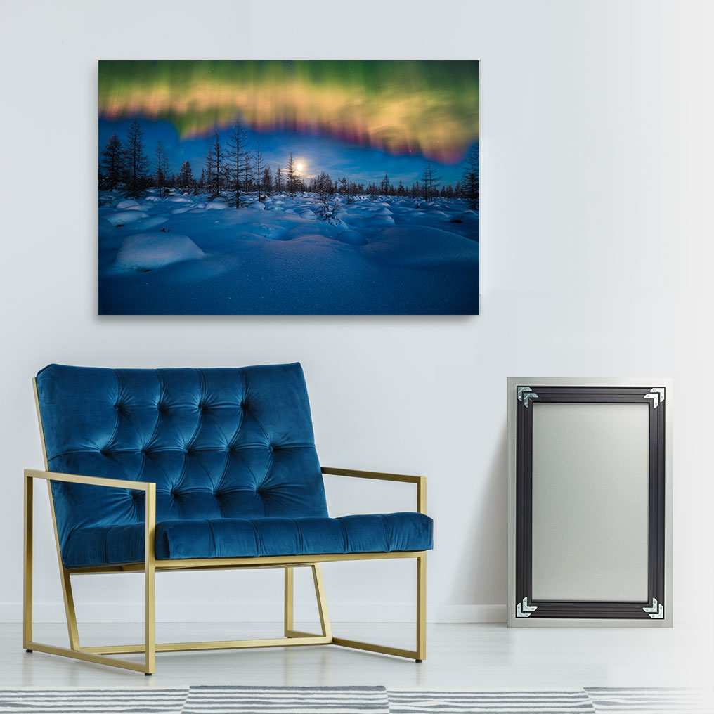Inset Framed Metal Prints