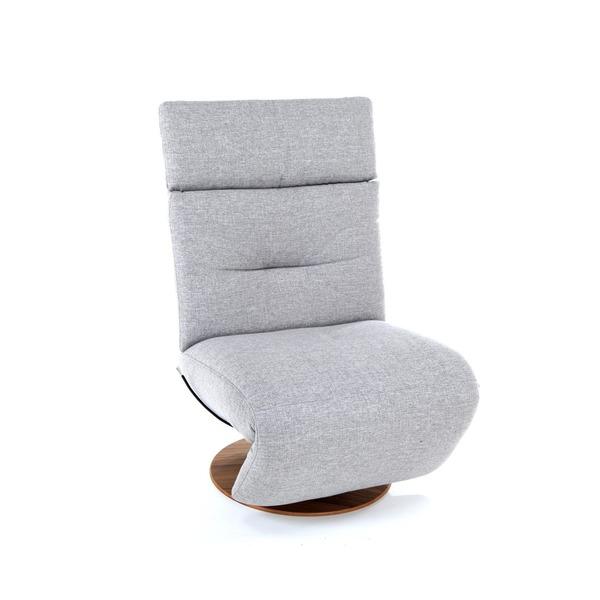 Moderne relaxzetel op draaivoet zonder armleuning