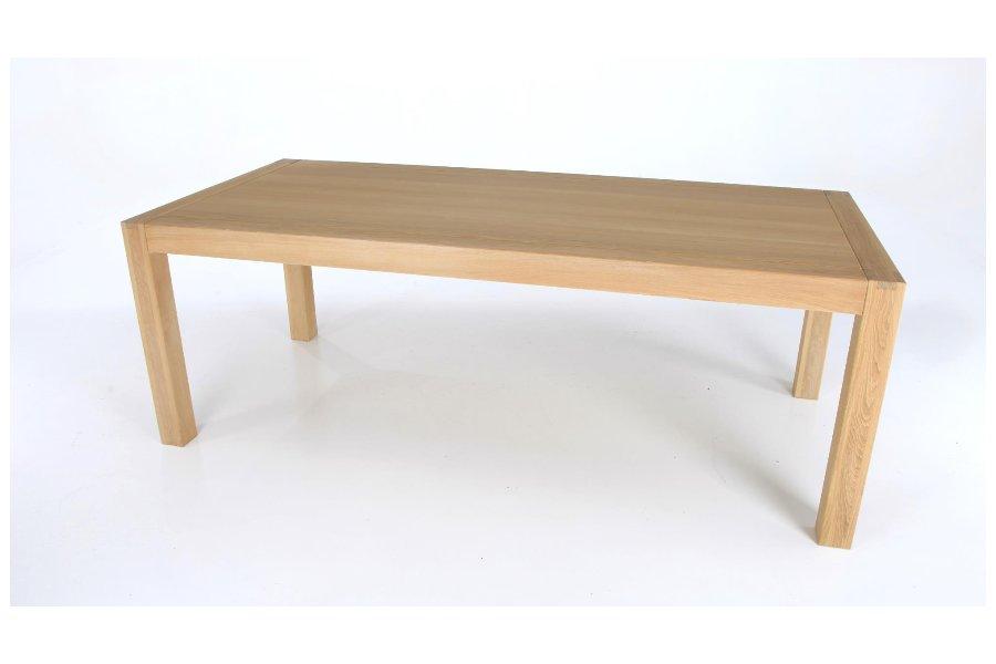 Tafel Nastri Tafels Tijdloos Modern Vanille maatwerk - Toonzaal Meubelen Larridon