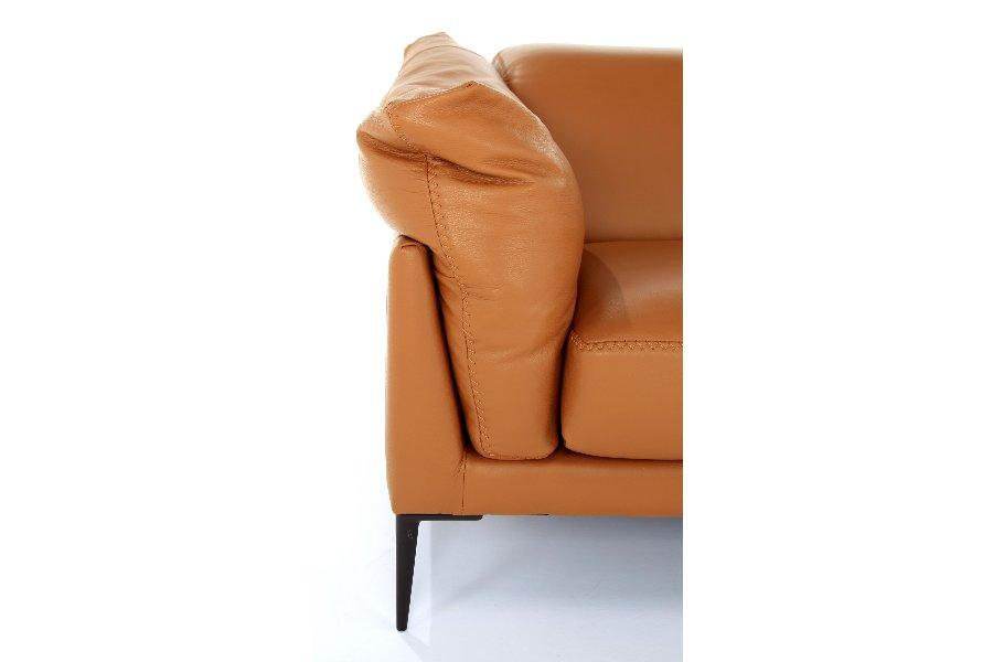 Salon Elise (2-zit) Salons Italian Design Leder Cognac maatwerk
