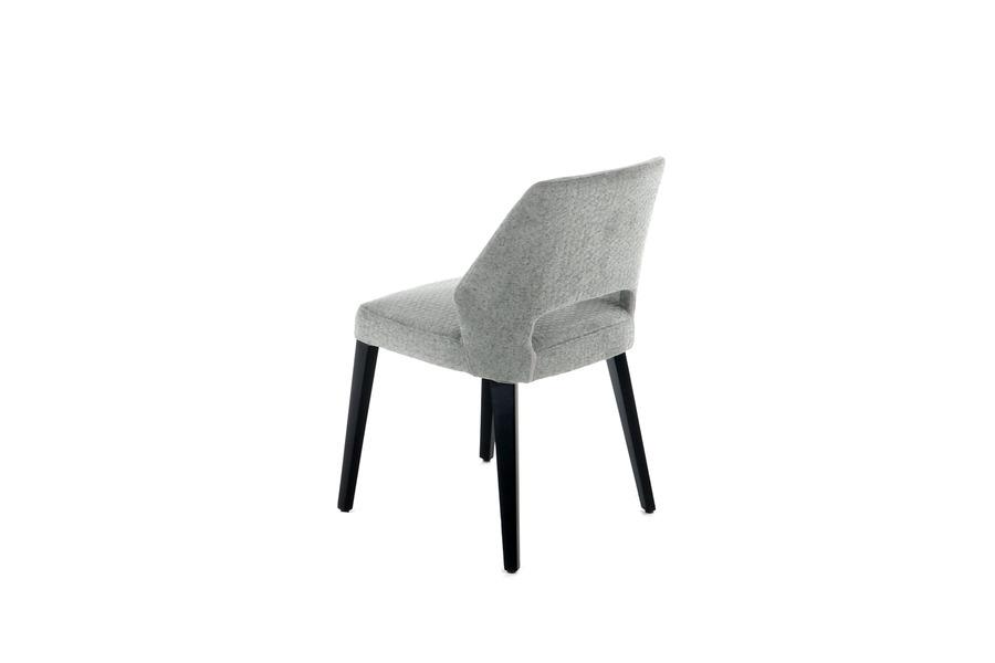 Stoel Lena Stoelen Tijdloos Modern Italian Design Stof Blauw maatwerk