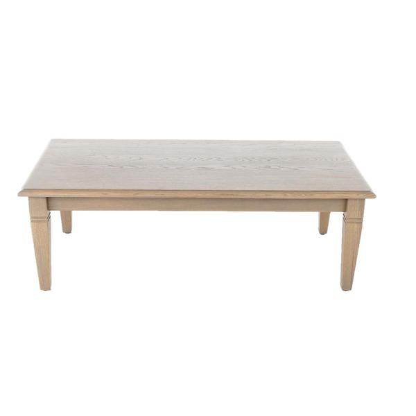 Rechthoekige salontafel in hout klassiek
