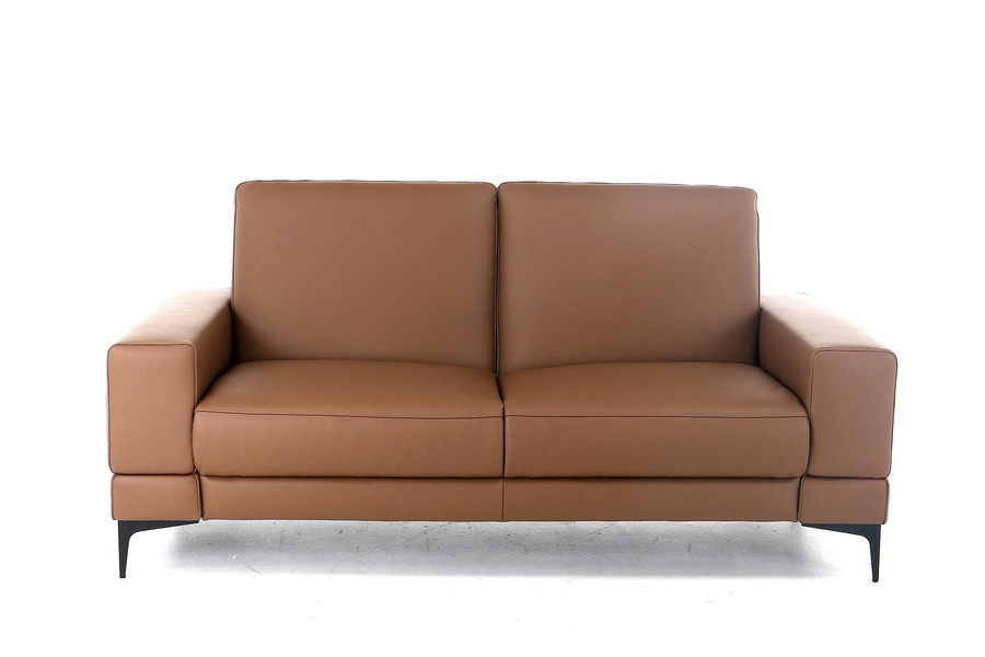 Salon Paredo-bis (2,5-zit) Salons Tijdloos Modern Relaxen in stijl Leder Cognac maatwerk
