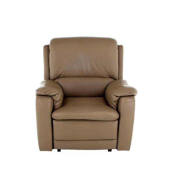 Comfortabele relaxzetel met hoge rug in klassieke stijl