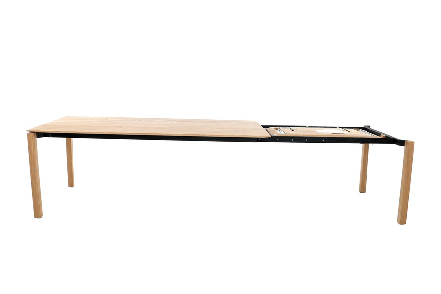Verlengbare tafel Float Tafels Tijdloos Modern Massief Eik Naturel maatwerk