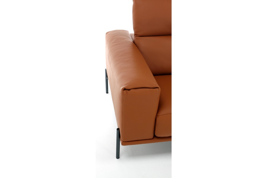 Salon Spectra (2,5-zit)  Salons Italian Design Tijdloos Modern leder Cognac maatwerk