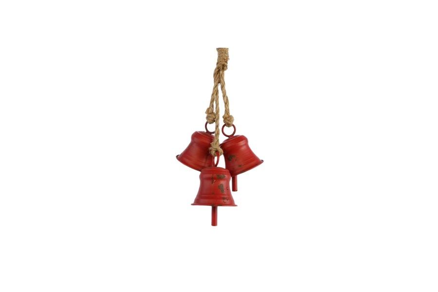 Hanger rode bellen (kerst) Accessoires Brut Landelijk Strak Landelijk maatwerk