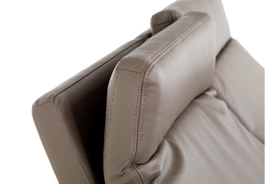 Electrische relax Melia Relaxen Relaxen in stijl Tijdloos Modern Leder Taupe maatwerk