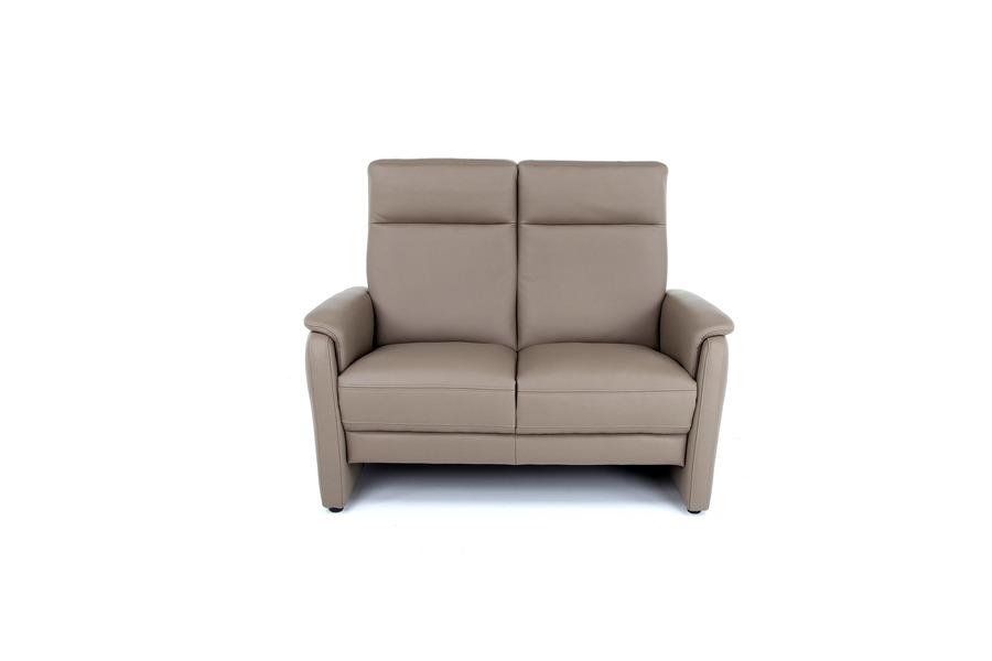 Salon Melia (2-zit) Salons Tijdloos Modern Relaxen in stijl Leder Taupe maatwerk