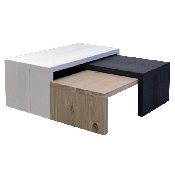 Salontafel Box (set van 3)