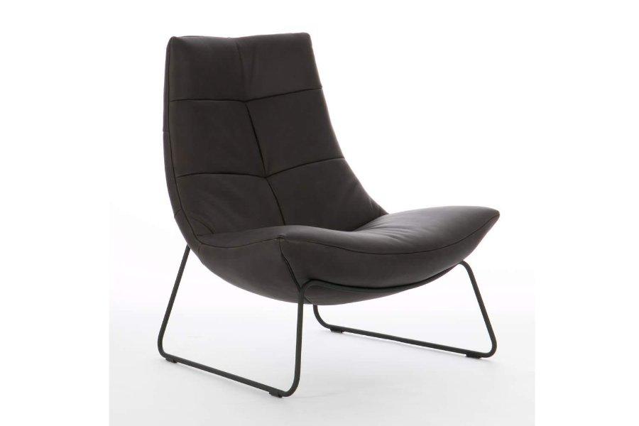 Zetel Huub Zetels Industrieel Tijdloos Modern Relaxen in stijl Leder Zwart maatwerk