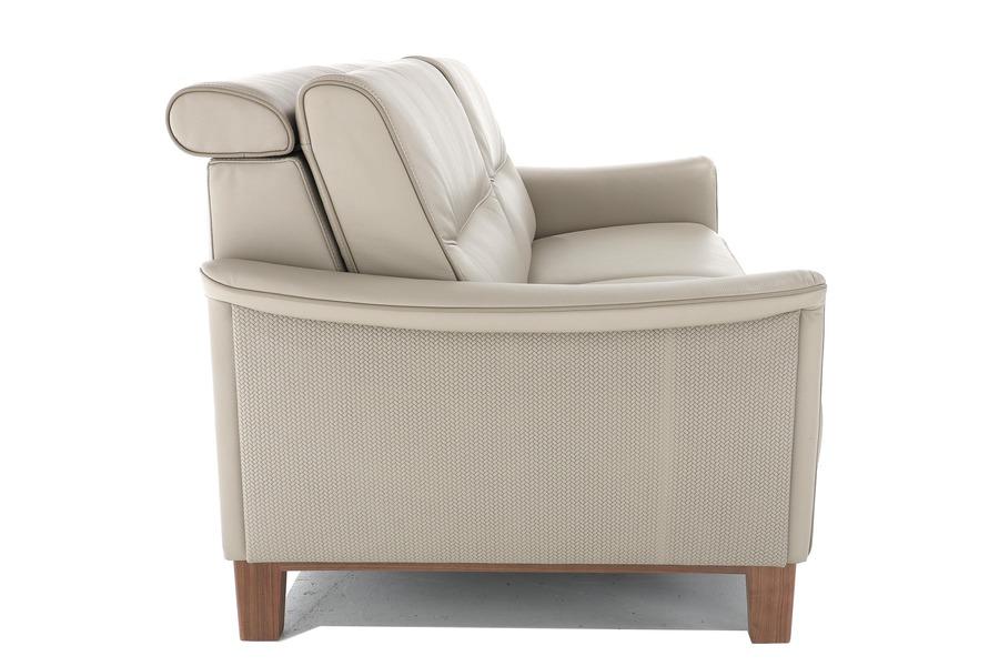 Salon Corda (3-zit inclusief 2 elektrische relaxen) Salons Hedendaags Klassiek Relaxen in stijl leder  Beige maatwerk