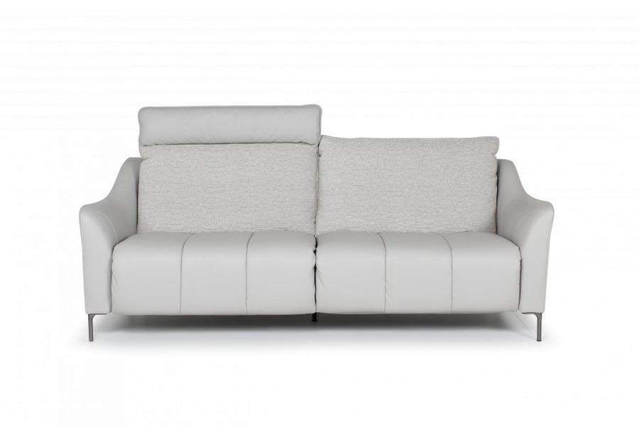 Salon Carmelo (3-zit Breed incl. 2 electrische relaxen) Salons Relaxen in stijl Stof Beige maatwerk