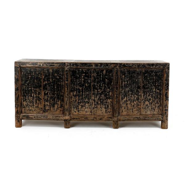 Oude dressoir op poten chinese stijl
