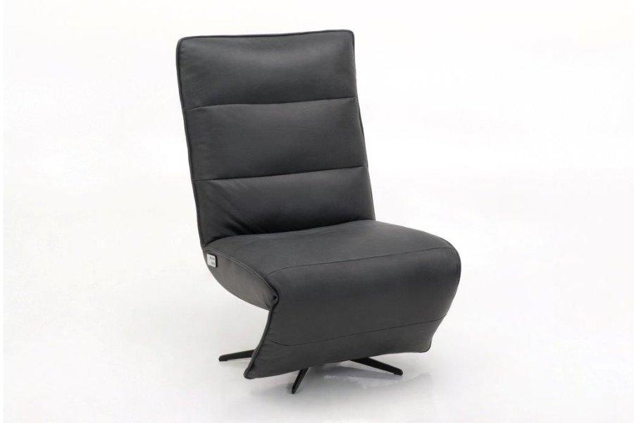 Electrische relax Olav  Relaxen Industrieel Relaxen in stijl Leder  Cognac maatwerk - Toonzaal Meubelen Larridon