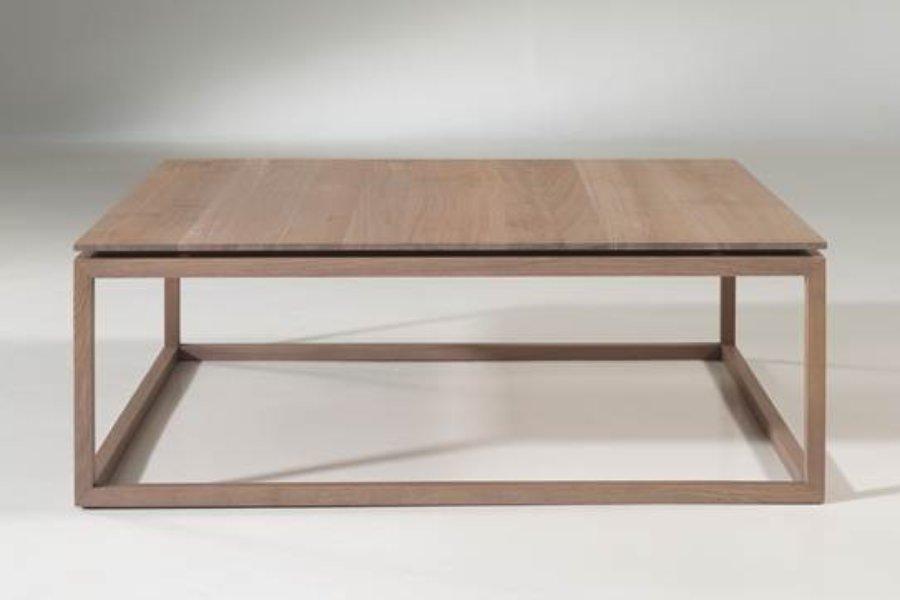 Salontafel Frame Salontafels Tijdloos Modern Italian Design 100% Massief eik Grijs maatwerk - Toonzaal Meubelen Larridon