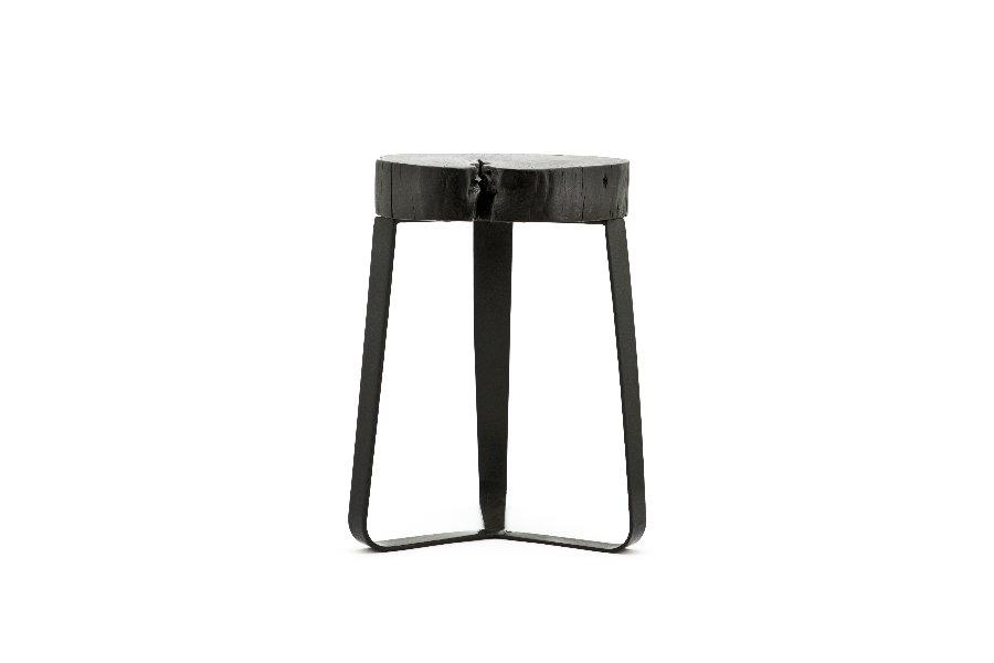 Krukje Kuro Salontafels Industrieel Hout + ijzer Zwart maatwerk