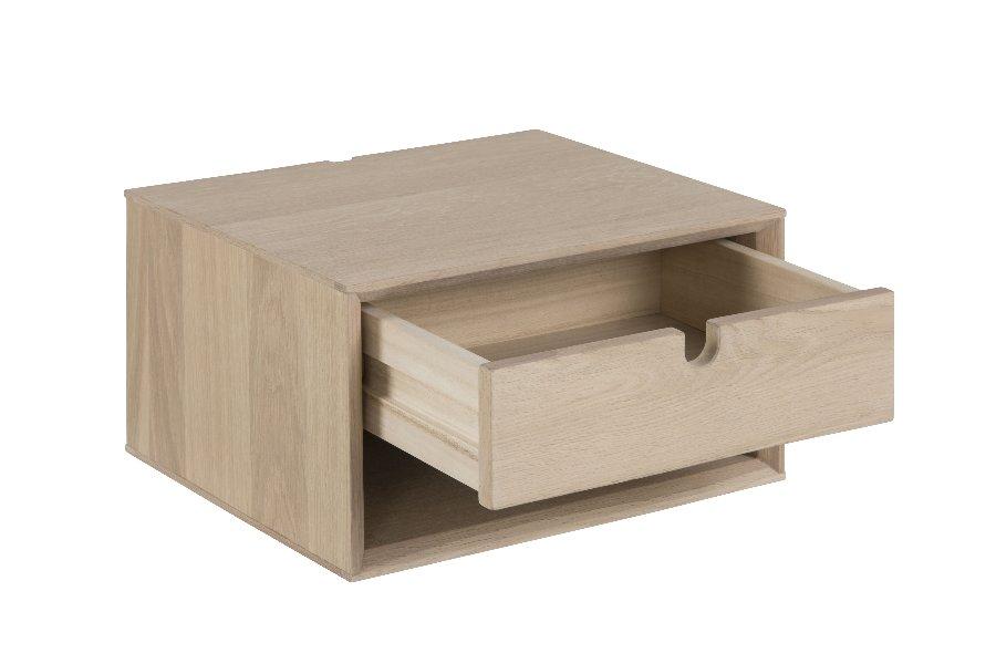 Nachtkastje Cube (set van 2) Nachttafels Scandinavische Stijl Eik Naturel maatwerk
