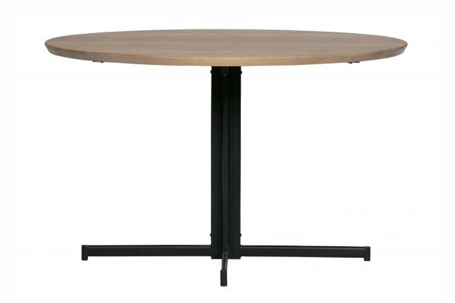 Moderne Ronde Tafel.Moderne Ronde Eettafel Op Zwart Onderstel Meubelen Larridon