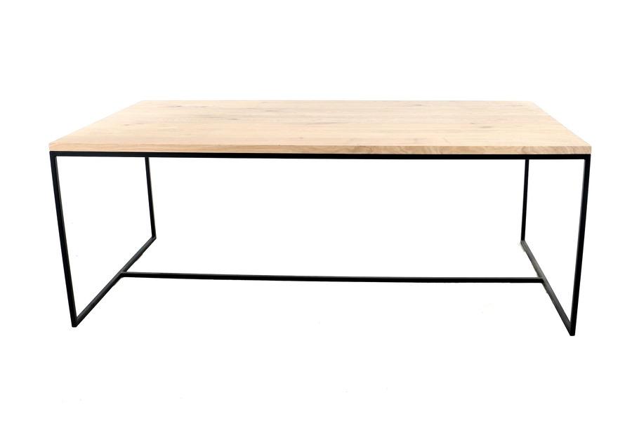 Tafel Cubica Tafels Tijdloos Modern Larridon Home Massief eik Naturel maatwerk