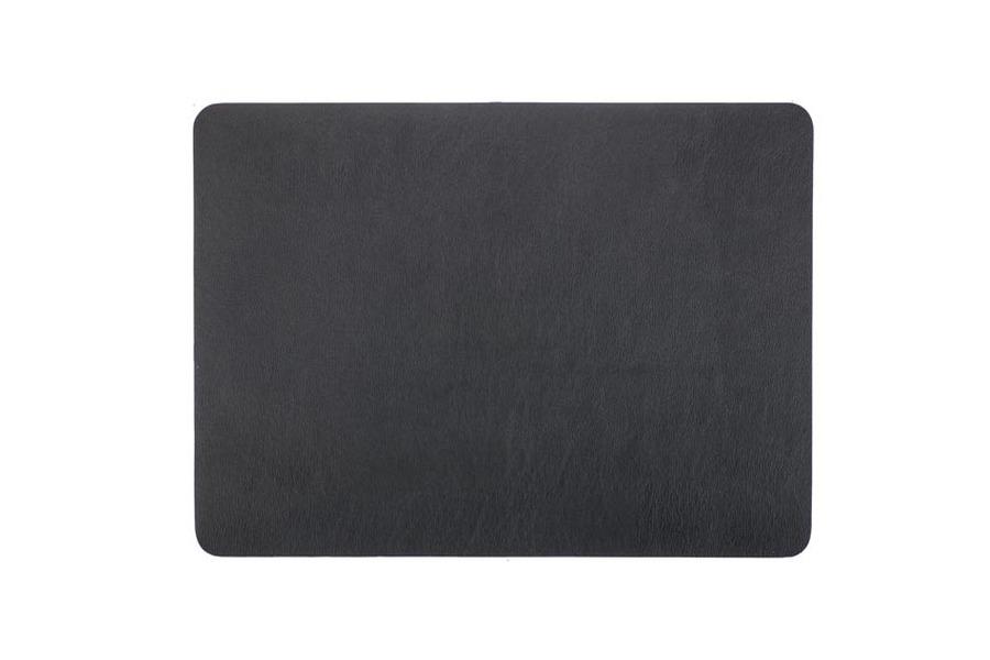 Placemat zwart (set van 6) Accessoires Brut Landelijk Strak Landelijk Industrieel Tijdloos Modern maatwerk