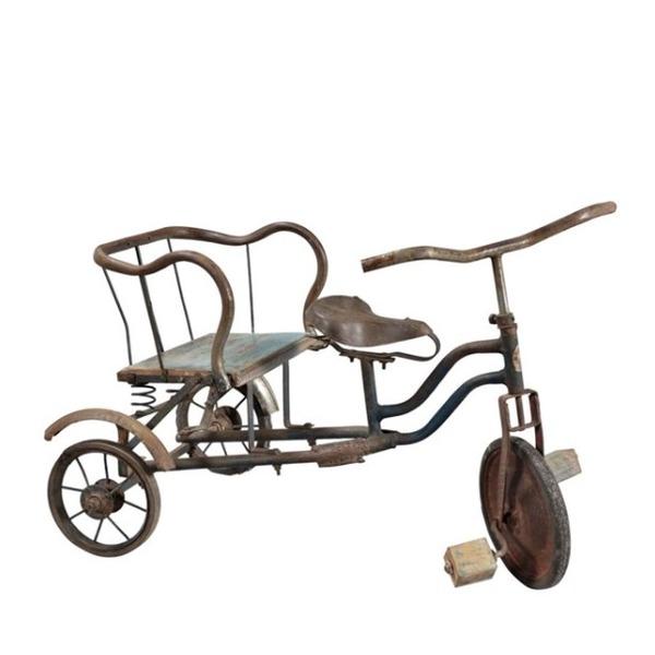 antieke driewieler