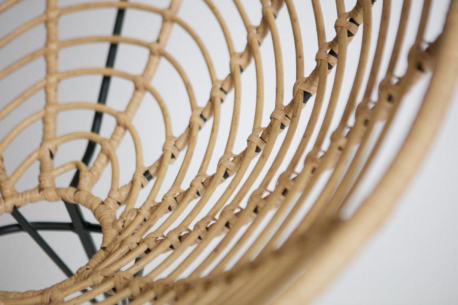 Loungestoel June Zetels Industrieel Jong Wonen Kunststof + metaal Naturel maatwerk - Toonzaal Meubelen Larridon