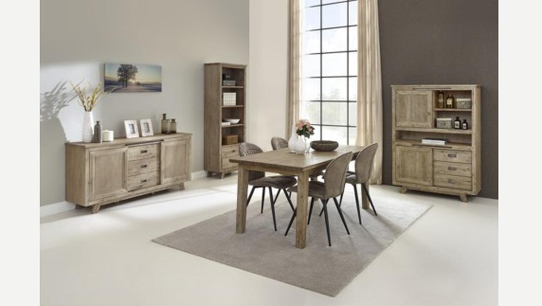 Verlengbare tafel in acacia hout