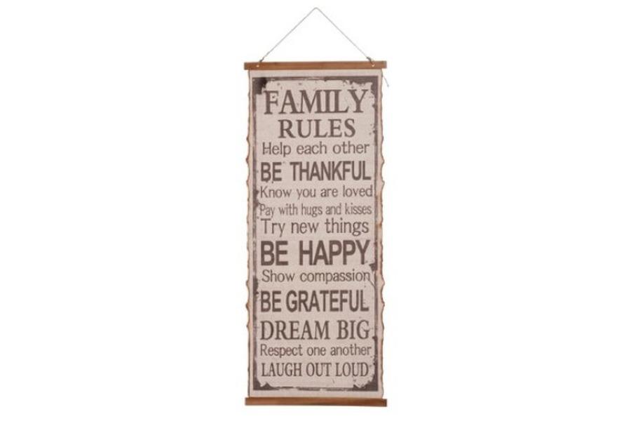 Doek Familie regels Accessoires Strak Landelijk Brut Landelijk maatwerk