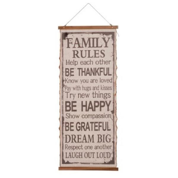 Doek Familie regels