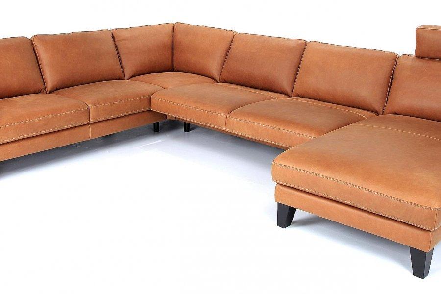 Hoeksalon Soho Hoeksalons Strak Landelijk Industrieel Relaxen in stijl Leder Cognac maatwerk