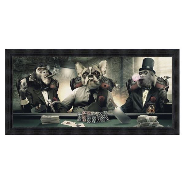 Kader dieren + poker