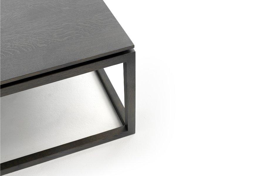 Salontafel Frame Salontafels Tijdloos Modern Italian Design 100% Massief eik Grijs maatwerk