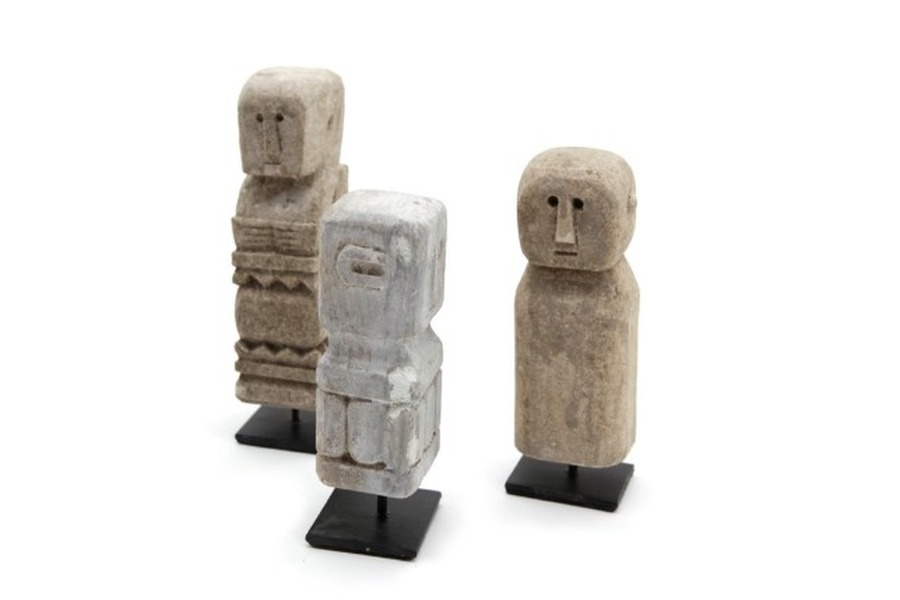Klein standbeeldje steen Accessoires Brut Landelijk Strak Landelijk maatwerk