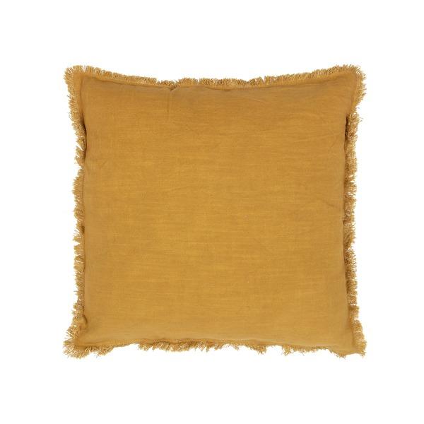 Sierkussen Tassel mustard (set van 2)