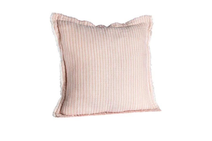 sierkussen streep roze Accessoires Brut Landelijk Hedendaags Klassiek Scandinavische Stijl Slapen maatwerk