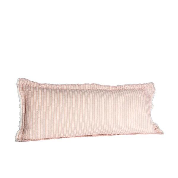 Sierkussen streep roze