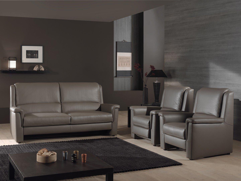 Comfortabele elektrische relax in leder met goede rugsteun