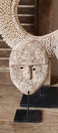 Masker op voet