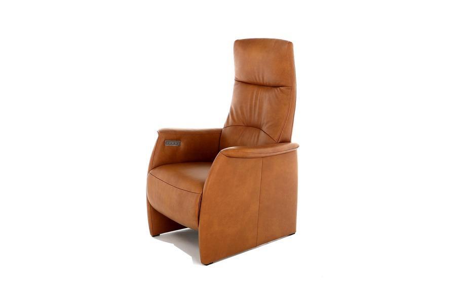 Electrische relax Faber  Relaxen Relaxen in stijl Leder Cognac maatwerk