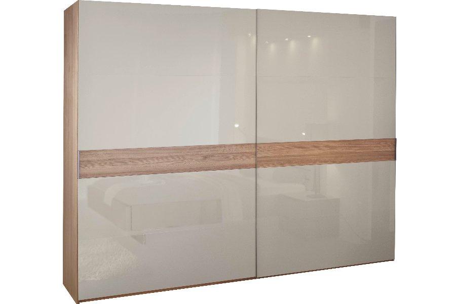 Kleerkast 20up Kleerkasten glas + hout Grijs maatwerk