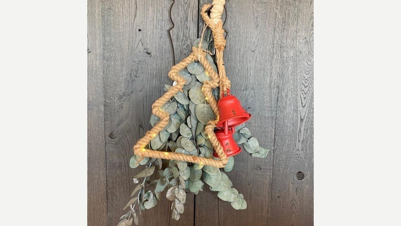 Hanger rode bellen (kerst)