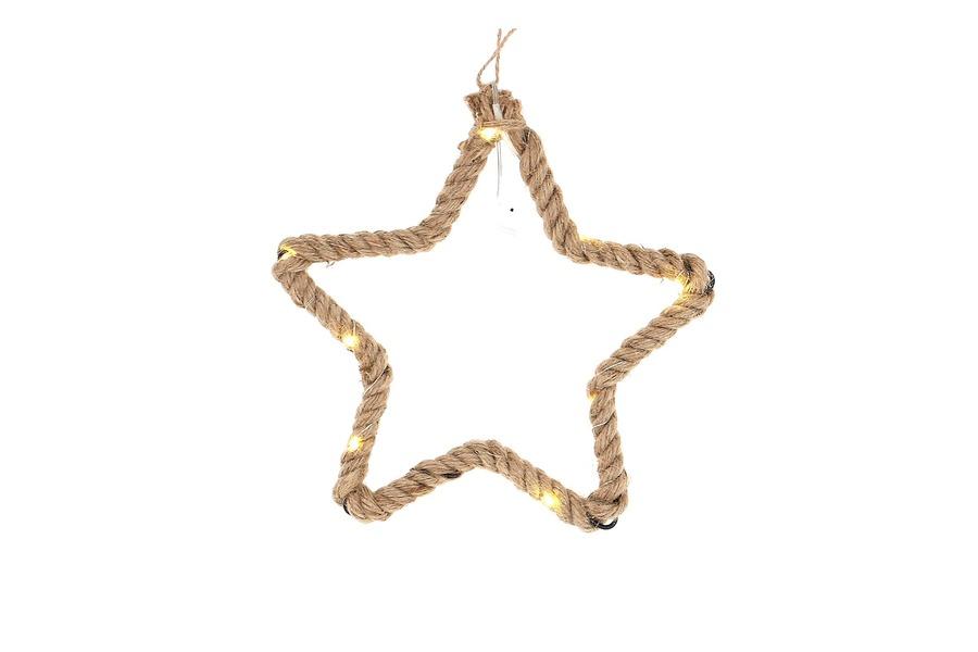 Hanger ster (kerst) Accessoires Brut Landelijk Strak Landelijk Industrieel maatwerk
