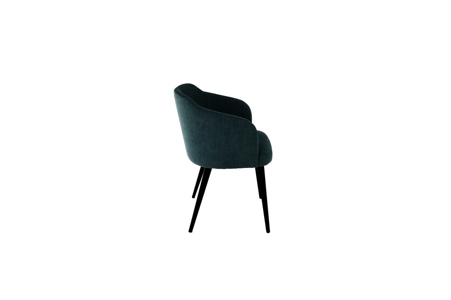 Armstoel Amor (6 stuks) Armstoel Tijdloos Modern Italian Design Stof Blauw maatwerk